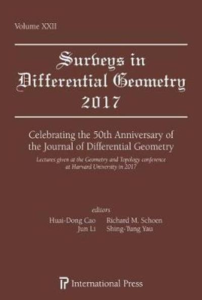 Celebrating the 50th Anniversary of the Journal of Differential Geometry - Huai-Dong Cao