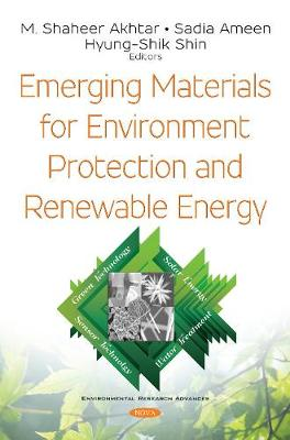 Emerging Materials for Environment Protection and Renewable Energy - M. Shaheer Akhtar