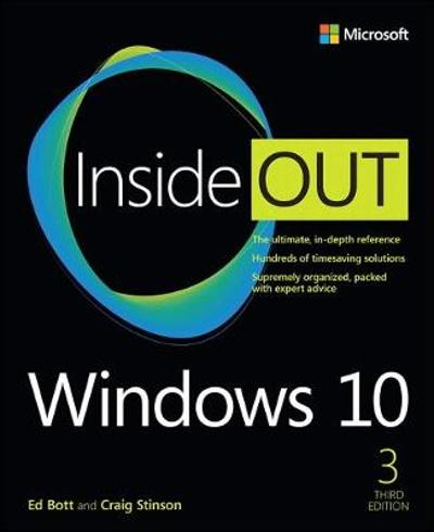 Windows 10 Inside Out - Ed Bott