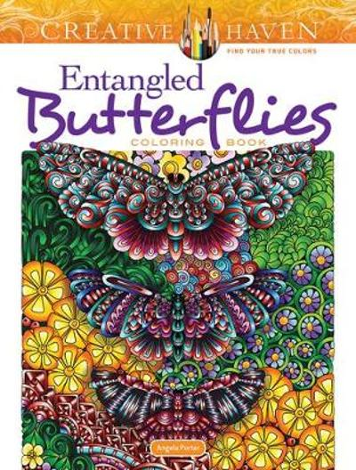 Creative Haven Entangled Butterflies Coloring Book - Angela Porter