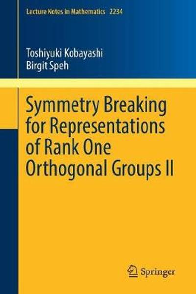 Symmetry Breaking for Representations of Rank One Orthogonal Groups II - Toshiyuki Kobayashi