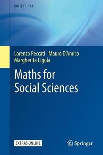 Maths for Social Sciences - Lorenzo Peccati