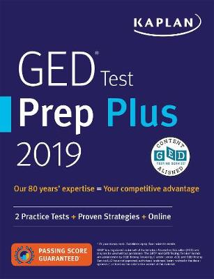 GED Test Prep Plus 2019 - Caren Van Slyke