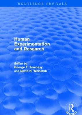 Revival: Human Experimentation and Research (2003) - George F. Tomossy
