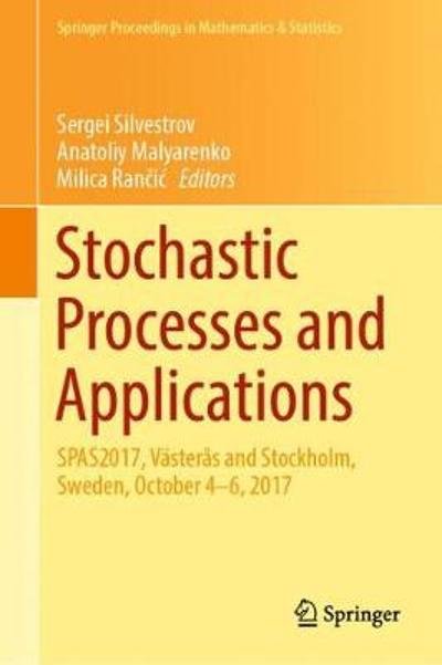 Stochastic Processes and Applications - Sergei Silvestrov
