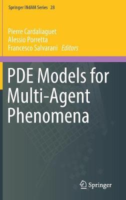 PDE Models for Multi-Agent Phenomena - Pierre Cardaliaguet