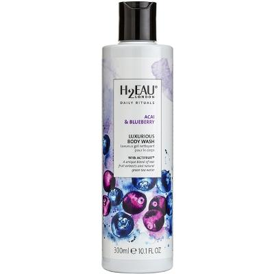 Acai & Blueberry Luxurious Body Wash - H2EAU LONDON
