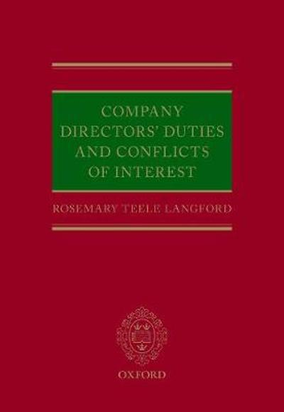 Company Directors' Duties and Conflicts of Interest - Rosemary Teele Langford