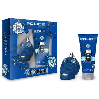Police To Be Tattooart For Man - Gift Set - Police