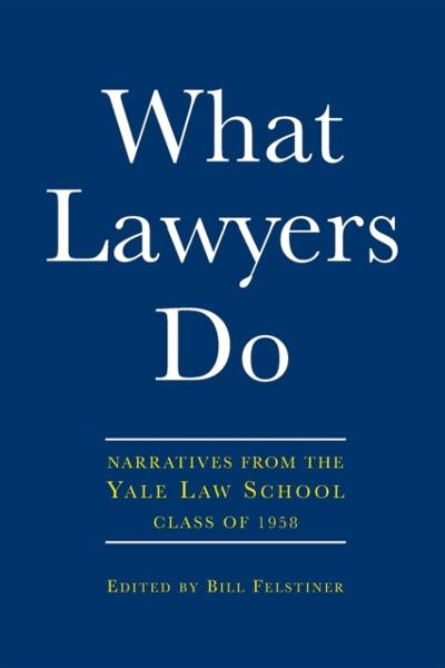 What Lawyers Do - Bill Felstiner