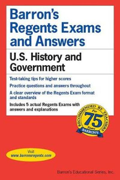 Regents Exams and Answers: U.S. History and Government - Eugene V. Resnick