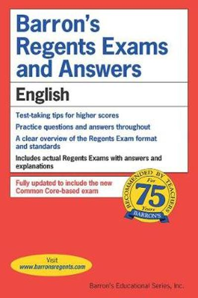 Regents Exams and Answers: English - Carol Chaitkin