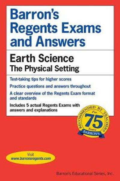 Regents Exams and Answers: Earth Science - Edward J. Denecke, Jr.
