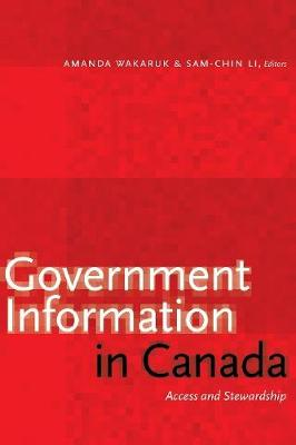 Government Information in Canada - Amanda Wakaruk