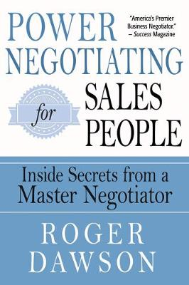 Power Negotiating for Salespeople - Roger Dawson