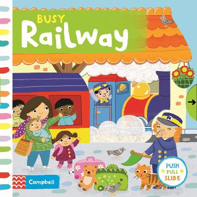 Busy Railway - Campbell Books