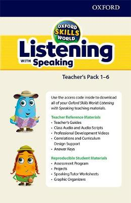 Oxford Skills World: Listening with Speaking Teacher's Pack (includes material for all levels) -