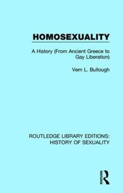Homosexuality - Vern L. Bullough