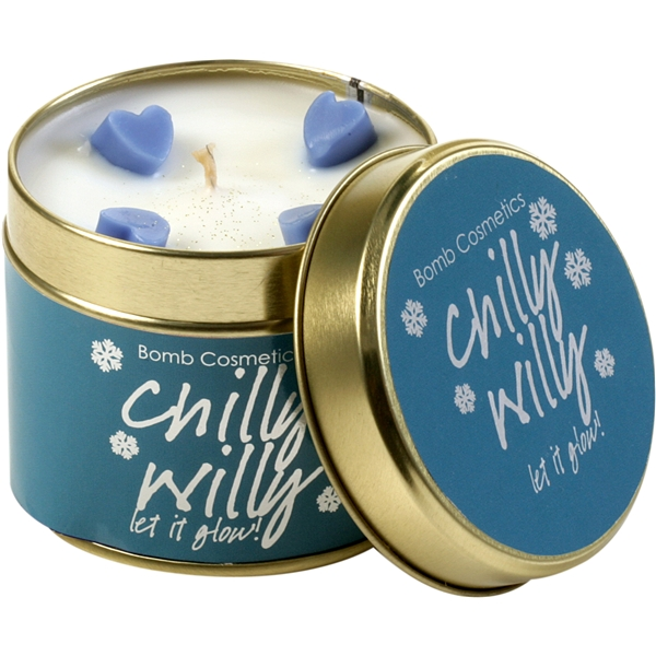 Chilly Willy Candle - Let It Glow - Bomb Cosmetics