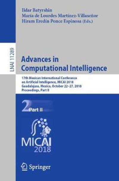 Advances in Computational Intelligence - Ildar Batyrshin