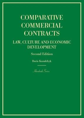 Comparative Commercial Contracts - Boris Kozolchyk