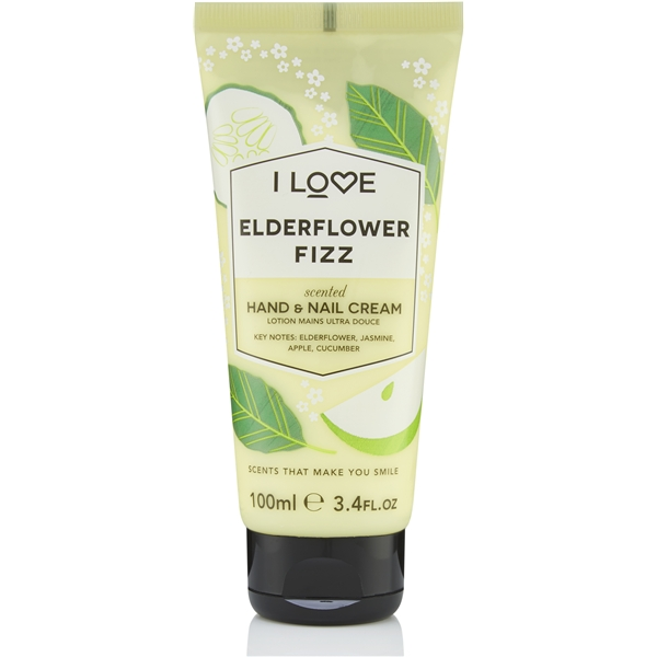 Elderflower Fizz Scented Hand & Nail Cream - I Love...