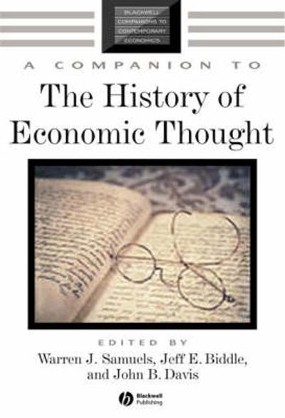 A Companion to the History of Economic Thought - Warren J. Samuels