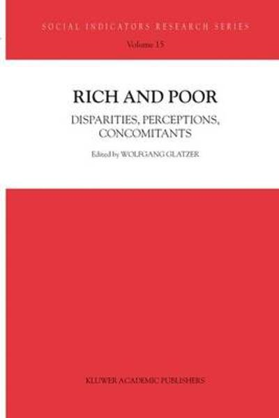 Rich and Poor - Wolfgang Glatzer