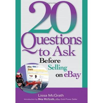 20 Questions to Ask Before Selling on eBay - Lissa McGrath