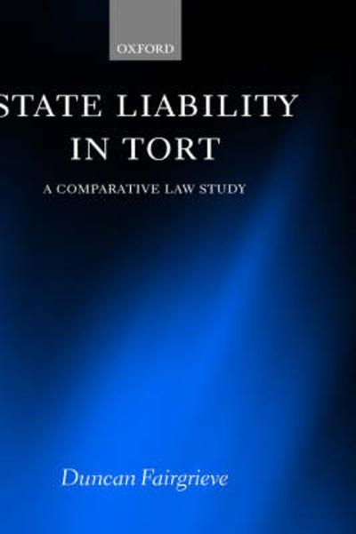 State Liability in Tort - Duncan Fairgrieve