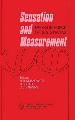 Sensation and Measurement - H.R. Moskowitz