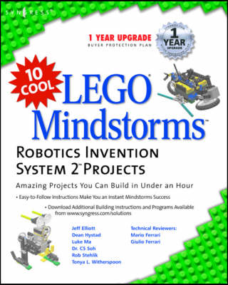 10 Cool Lego Mindstorm Robotics Invention System 2 Projects - Syngress