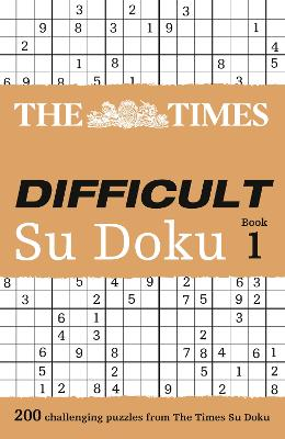 "The ""Times"" Difficult Su Doku - Wayne Gould"