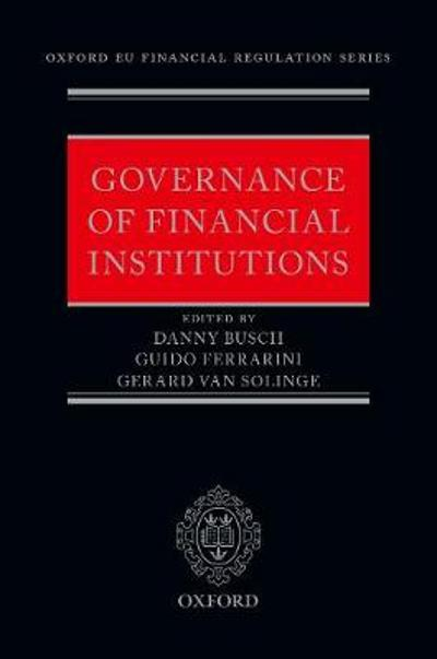 Governance of Financial Institutions - Danny Busch