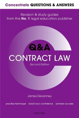 Concentrate Questions and Answers Contract Law - James Devenney