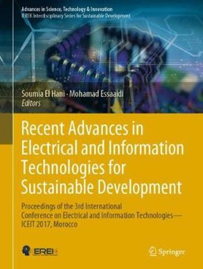 Recent Advances in Electrical and Information Technologies for Sustainable Development - Soumia El Hani