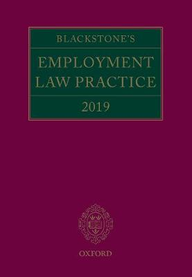 Blackstone's Employment Law Practice 2019 - Gavin Mansfield QC