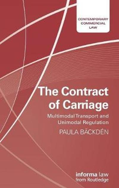 The Contract of Carriage - Paula Backden