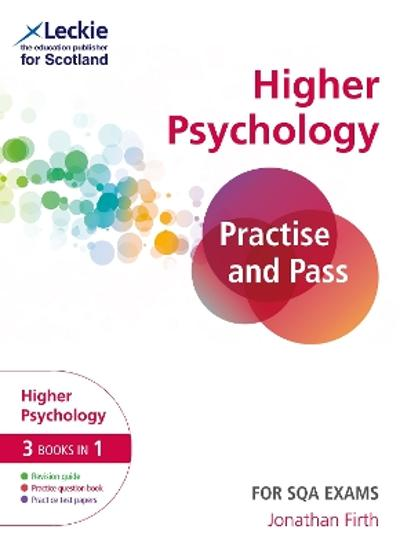 Practise and Pass Higher Psychology Revision Guide for New 2019 Exams - Jonathan Firth
