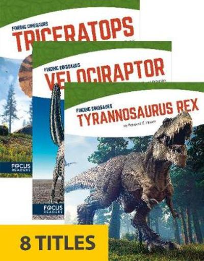 Finding Dinosaurs (Library Bound Set of 8) - Various Various
