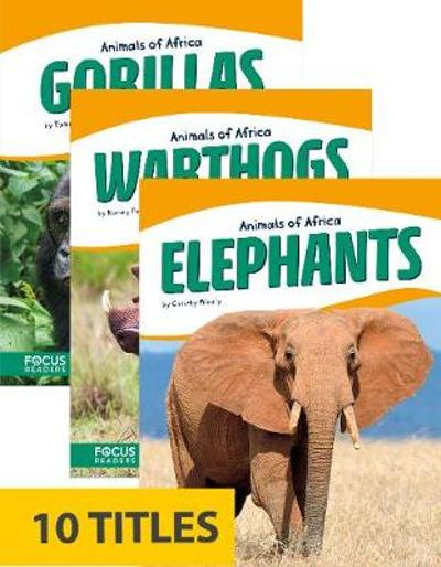 Animals of Africa (Paperback Set of 10) - Various Various