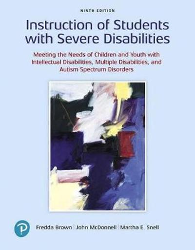 Instruction of Students with Severe Disabilities - Fredda Brown