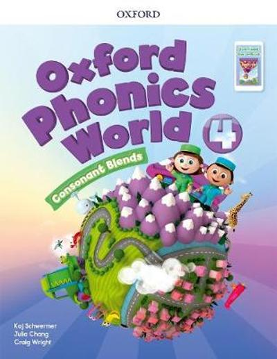 Oxford Phonics World: Level 4: Student Book with Reader e-Book Pack 4 -