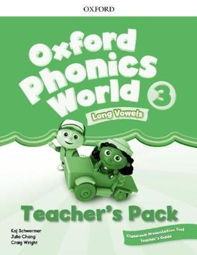 Oxford Phonics World: Level 3: Teacher's Pack with Classroom Presentation Tool 3 -