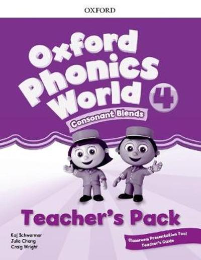 Oxford Phonics World: Level 4: Teacher's Pack with Classroom Presentation Tool 4 -