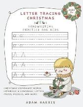 Letter Tracing Christmas - Adam Harris Young Dreamers Press