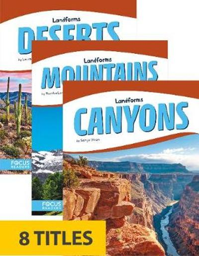 Landforms (Library Bound Set of 8) -