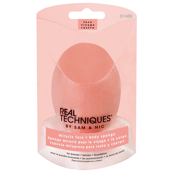 Real Techniques Miracle Face + Body Sponge - Real Techniques