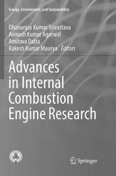 Advances in Internal Combustion Engine Research - Dhananjay Kumar Srivastava