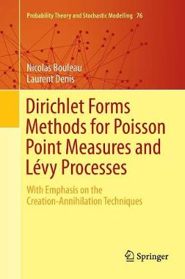 Dirichlet Forms Methods for Poisson Point Measures and Levy Processes - Nicolas Bouleau